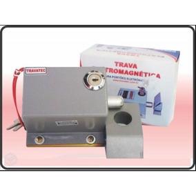 Trava Elétrica Travatec Te400 24v (portões, Elevadores,...)