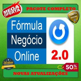 Fórmula Negócio Online 2.0- Alex Vargas- Curso Completo
