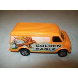 Corgi Juniors Camioneta Us Van Naranja Gt. Britain Vintage