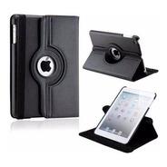 Capa Em Couro Giratório Para Apple iPad Mini 1 /2/3 - Preta