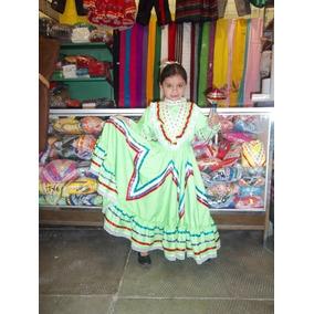 Vestido Jalisco Traje Típico Jalisco Niñas Envio Gratis