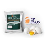 Kit 6 Albumina Pura (500g) - 3kg Cp Ovos Frete Grátis