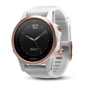 Reloj Gps Garmin Fenix 5s Zafiro Oro Rosa