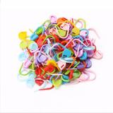 Atacado 400 Marcadores Plástico Ponto Cadeado Tricô Crochê