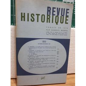Revue Historique História Outubro 1996 Favier - Remond