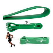 Banda De Poder Elástica Sportfitness Verde Tonificacion Gym