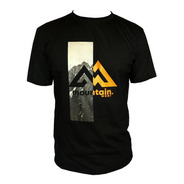 Camiseta Mountain Wear Preta / Cm05