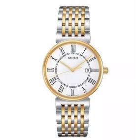 Reloj Mido M0096102201300 P/caballero Oro Y Plata *original*