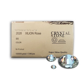 Cristal Tipo Austriaca 1440 Pcs Ab O Cristal Ss5, 6,8,10 Uña