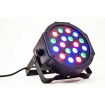 Steelpro Cañón Led 18x1 Audioritmico Dmx Auto Luz Par 64