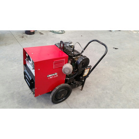 Soldadora Lincoln Weldan Power 125 Amp Dc Gasolina
