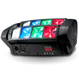 Luces Dj Led Mini Spider Rgbw Doble Barra Beam Alien