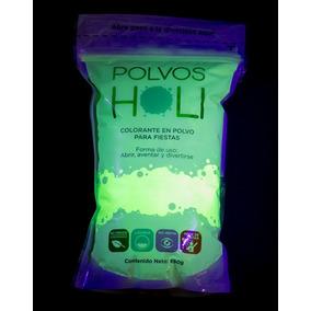 Polvos Holi Original Neon Fiestas, Conciertos Carreras 650gr