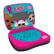 Laptop Infantil Bilíngue Lol Surprise Rosa Bilíngue Candide