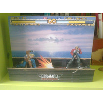 Papercraft Diorama Fatal Fury - Game - Juego