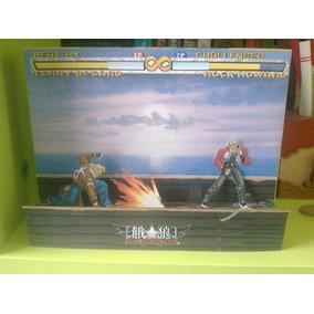Diorama Fatal Fury - Game - Juego