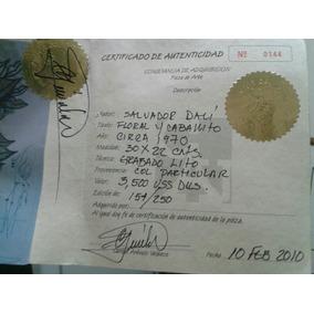 Litografia De Salvador Dali