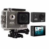 Cámara Deportiva 4k Wifi Sumergible 12mp H.264 Action Camera