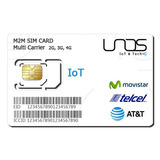 Plan Anual 3mb Sim - Chip Gps Conexión A Telcel Y Movistar