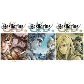 Kit Bestiarius - 3 Volumes Novos E Lacrados (frete Grátis)