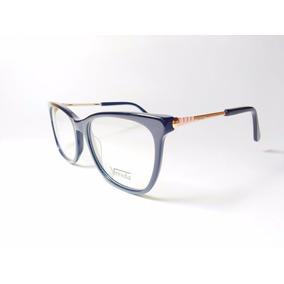 Óculos De Grau Feminino Vereda Golden Black + Brinde