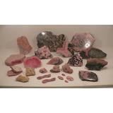 Rodocrosita Coleccion Lote Joyeria Mineral