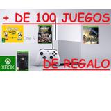 Xbox One Modelo Slim 4 K + 125 Juegos Originales De Regalo!!