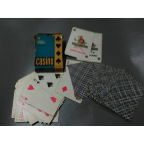 Juego Naipes De Poker Casino -plastificados -lavables