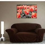 Cuadro Tulipanes Rojos Naturaleza Flor 40x60cm Local Envio!