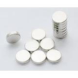 Imanes De Neodimio 10x2 Mm Pack De 10 Unidades