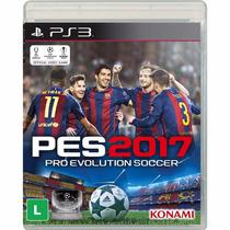 Pes 2017 Para Ps3 Português Futebol Blu-ray Disco Lacrado Br