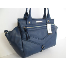 Preciosa Bolsa Nine West Azul Navy Original Para Dama!!