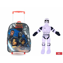 Educando Star Wars Combo Mochila Rebels 69203 + Muñeco Tela