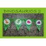 Banderin Guirnalda Dinosaurios Tematica Jardin Niños Cumple