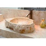 Cuba Pia Importada Luxo Banheiro Lavabo Pedra Natural Clara