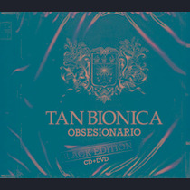 Cd + Dvd Tan Bionica Obsesionario Black Edition Nuevo & Cerr