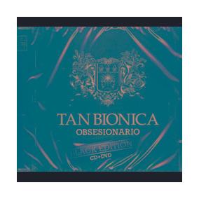 Cd + Dvd Tan Bionica Obsesionario Black Edition Nuevo & Cerr