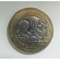 Moneda De La Gesta Histórica De Veracruz, $20, Envio Gratis