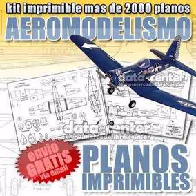 2000 Projetos Planador Aeromodelo Controle De Rádio Aviões