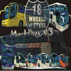 Patch Mod Bus V3 + 18 Wheels Haulin Simulador De Ônibus