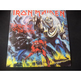 Lp. Iron Maiden Number Of Beast Rush Ambato.