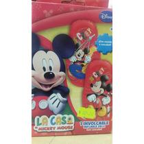 Involcable Con Cascabel Mickey Mouse Juguetería El Pehuén