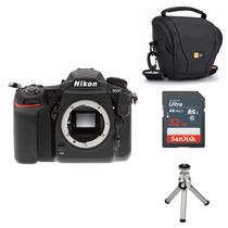 Nikon D500 + Bolsa Cartão 32gb Mini Tripé