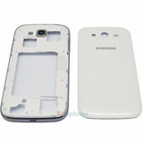 Carcaça Completa + Aro Cromado Galaxy Grand Duos Gt-i9082l