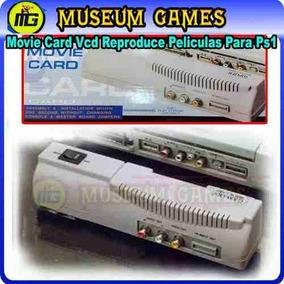 Playstation Movie Card (reproductor Peliculas Vcd) Nuevos-