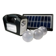 Kit Solar De Emergencia 3 Ampolletas Original Gd Plus 3