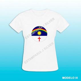 Blusa Baby Look Bandeira De Pernambuco Frete Grátis
