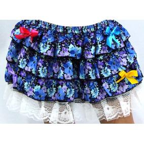 Saia Infantil Festa Junina Caipira - Temos Vestidos Juninos