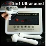 Ultrasonido 1mhz Doble Cabezal Envio Y Gel Conductor Gratis