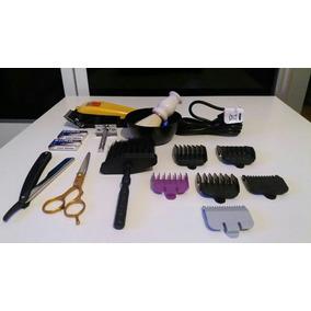 Kit Maquina Cortar Cabelo 220 Volts